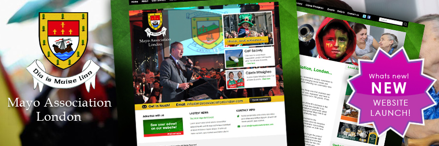 Website Redesign: Mayo Association London