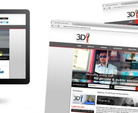 3D Personnel Recruitment Website